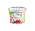 Maison Riviera Yogourt Vegan Delight raspberry and blackcurrant 500 g