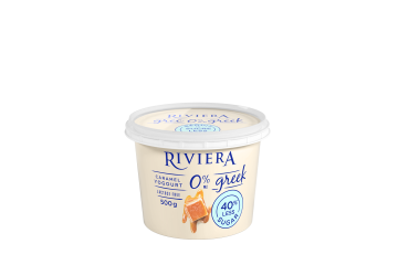 Maison Riviera Caramel No Sugar added 0% M.F. Greek Yogourt 500 g