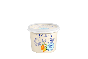 Maison Riviera Mango 40% Less Sugar 0% M.F. Greek Yogourt 500 g
