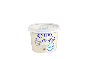 Maison Riviera Plain No Sugar added 0% M.F. Greek Yogourt 500 g