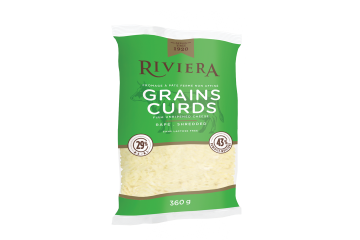 Maison Riviera Shredded Cheese Curds 360 g