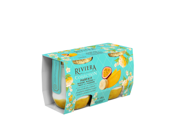 Maison Riviera Collection Parfaits Parfait banane, mangue et fruit de la passion