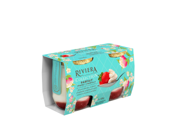 Maison Riviera Collection Parfaits Parfait fraise et chantilly