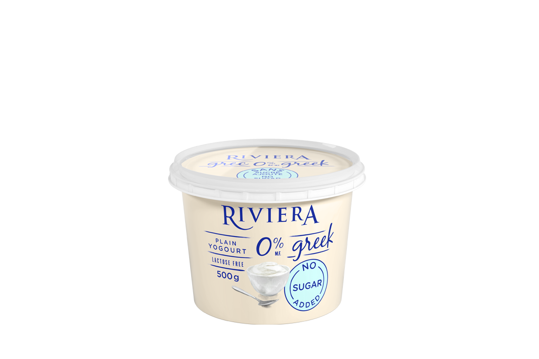 Plain greek yogourt g maison riviera yogurts cheese