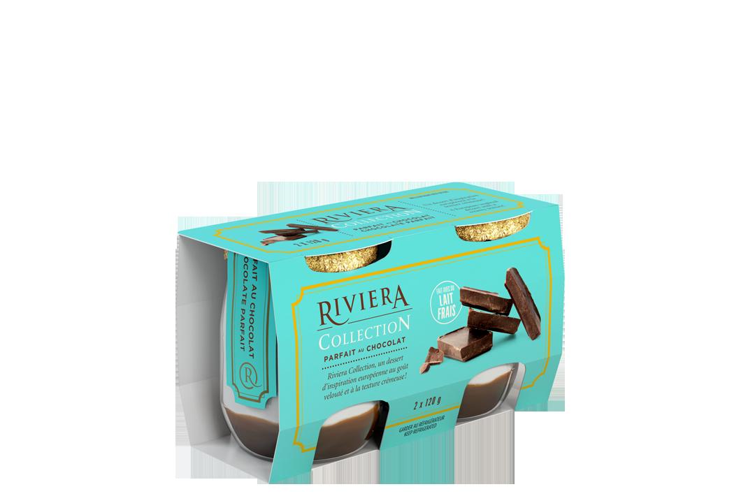 Parfait au chocolat maison riviera yogourts fromages cr me sure et beurres - Very parfait chocolat blanc ...